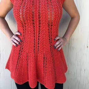 Anthropologie  Rosie Neira knitted blouse.